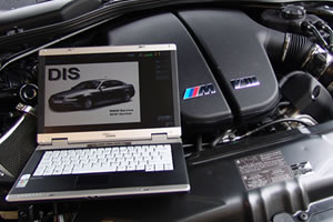 BMWコンピューター車両診断装置【DIS】&BMWプログラムコーディングシステム【SSS】