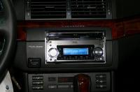 BMW E46左ハンドル車を2DIN化