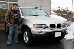 犬上郡 吉川様 BMW X5 3.0