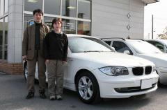 高島市 八代様 BMW 1シリーズ 120