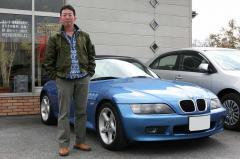 大阪府枚方市 葛葉様 BMW Z3ロードスター