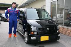 野洲市 西田様 スズキ ワゴンR RR-DI