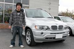 蒲生郡 野村様 BMW X5