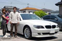 千葉県野田市 千葉様 BMW 7シリーズ