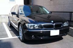 愛知県名古屋市 大西様 BMW 7シリーズ 750Li