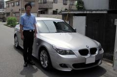 兵庫県明石市 上田様 BMW 5シリーズ 525i