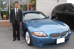彦根市 馬場様 BMW Z4 3.0