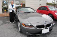 蒲生郡 園城様 BMW Z4 ロードスター
