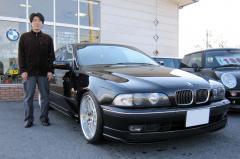 野洲市 西村様 BMW 5シリーズ 540i