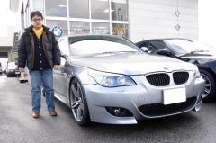 大津市 坂井様 BMW 5シリーズ 530 AZコンプリート