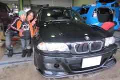 大津市 森田様 BMW 3シリーズ 330i Mスポーツ