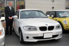 愛知郡 珠久様 BMW 1シリーズ 116i
