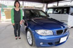 長浜市 中川様 BMW 1シリーズ 118i Mスポーツ
