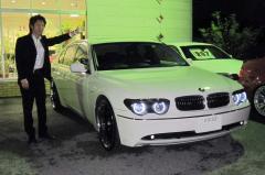 近江八幡市 高木様 BMW 7シリーズ 745Li シアターPK