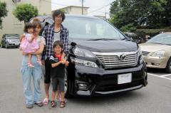 兵庫県川西市 松本様 ヴェルファイア 新車