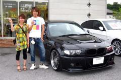 野洲市 河野様 BMW 3シリーズ オフィスアズデモカー