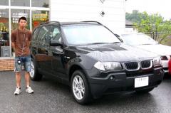 静岡県沼津市 井上様 BMW X3 2.5