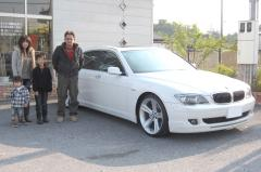 千葉県 野田市 千葉様 BMW 7シリーズ 750Li