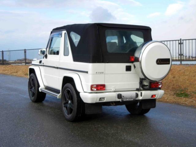 滋賀県中古車 メルセデスベンツ Gクラス G320カブリオ